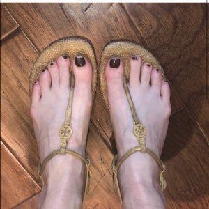Tory Burch Nude Sandal